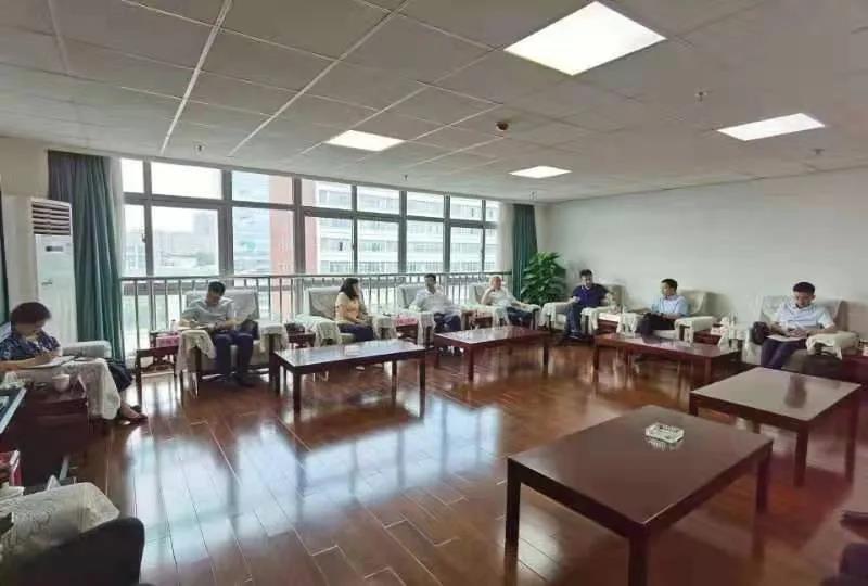 浙川东西部协作工作组组长王峻一行来川农考察并调研产研院
