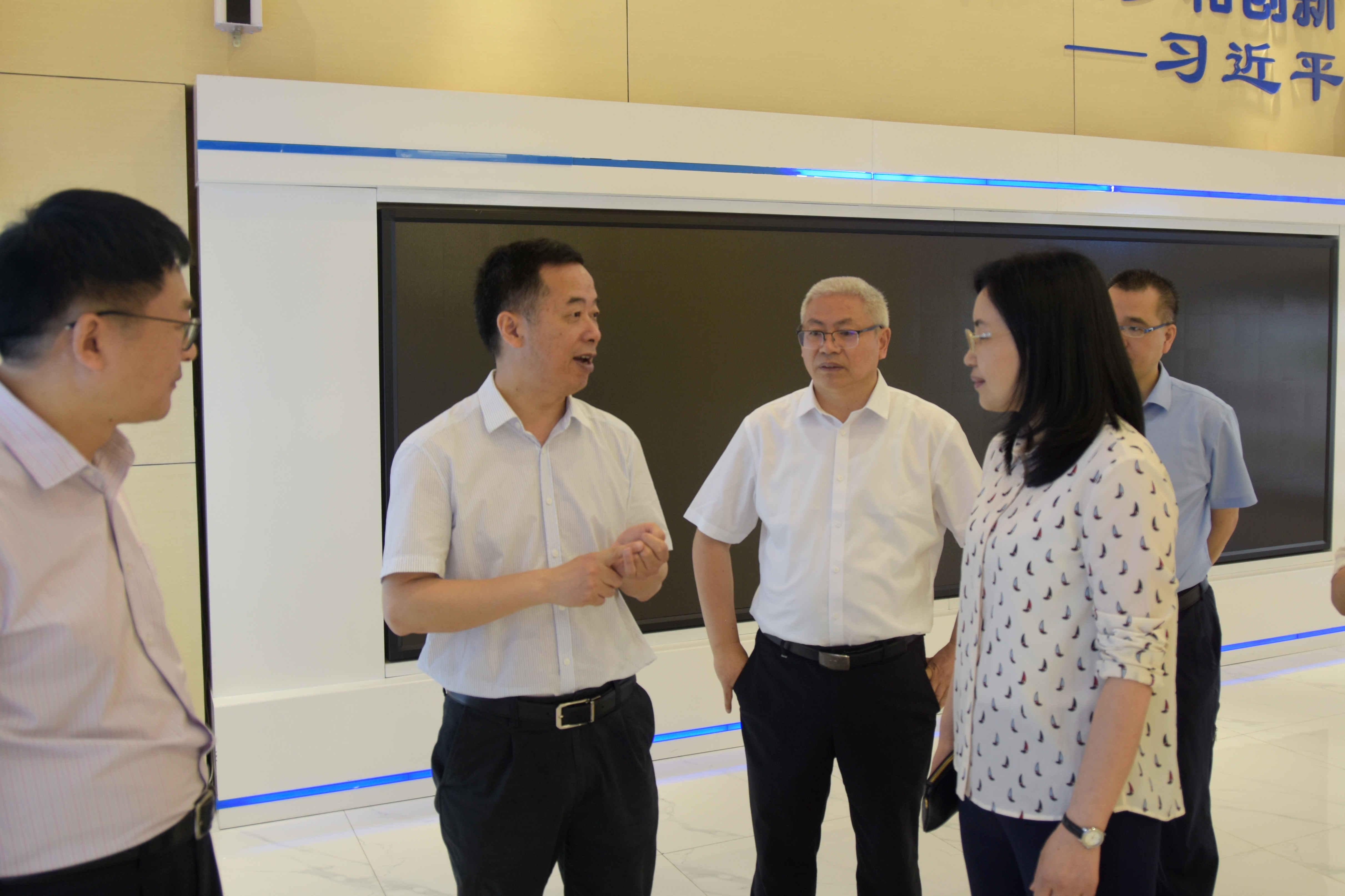 四川省委组织部副部长易林莅临产研院检查指导工作